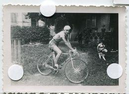 Jeune Garçon Homme Ado Teen Vélo Course 50s Bicycle Short Coureur Casquette Jardin - Anonymous Persons