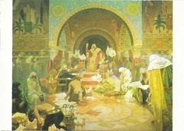 Slovanska Epopej (l'Epopée Slave) - Alfons Mucha - Le Tsar Siméon De Bulgarie) - Peintures & Tableaux