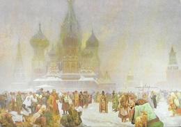Slovanska Epopej (l'Epopée Slave) - Alfons Mucha - L'abolition Du Servage En Russie - Peintures & Tableaux