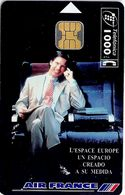 Spain - Telefonica - Air France - P-136 - 06.1995, 6.100ex, Used - Emisiones Privadas