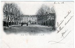 Cpa -  Pau - Place Grammont - - Pau