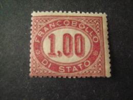 REGNO -1875,  Sass. N. 5, SERVIZIO, Lire 1 Lacca, MNH**, OCCASIONE - Servizi