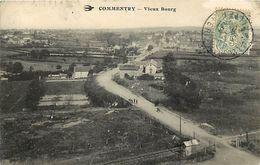 - Allier - Ref- C72- Commentry - Vieux Bourg - 1er Plan Passage A Niveau - Ligne De Chemin De Fer - - Commentry