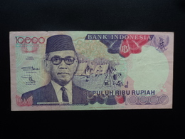 INDONÉSIE : 10 000 RUPIAH  1992 / 1992  P 131a    TTB - Indonésie