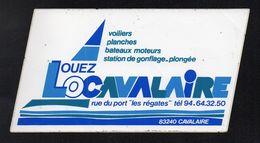LOUEZ LOCAVALAIRE 83240 CAVALAIRE - Autocollant  - Ref: 1377 - Stickers