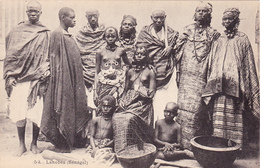 CPA SENEGAL Types Lanobés Nus Ethniques Nude Erotisme Eros - Senegal