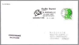RADIO FRANCE LA ROCHELLE - 1er Anniversaire. La Rochelle Gare 1989 - Telecom