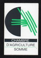 CHAMBRE D AGRICULTURE DE LA SOMME - Autocollant  - Ref: 1378 - Stickers