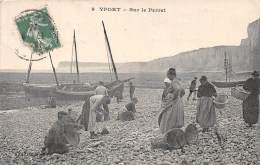 76 - SEINE MARITIME / Yport - 763405 - Sur Le Perret - Beau Cliché Animé - Yport