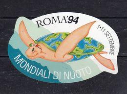 Mondiali Di Nuoto - ROMA '94 - - Stickers