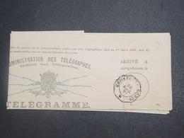 BELGIQUE - Télégramme De Bruxelles En 1891 - L 15089 - Telegraph