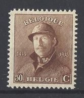 Nr 174 ** - 1919-1920 Albert Met Helm