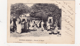 CPA SENEGAL - SOUDAN Marché De Djenné Marchands Ambulants - Senegal