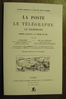 France Livre Présentant Les Services Postaux Des Années 1875 / 1900 - Altri