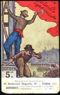 Carte Postale Bataille Syndicaliste, Luce - Syndicats