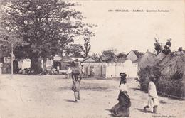 CPA SENEGAL  Quartier Indigène - Senegal
