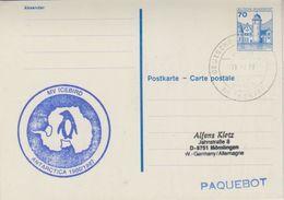 Germany 1987 Mv Icebird Postal Stationery Used 11.2.87(38045) - Poolshepen & Ijsbrekers
