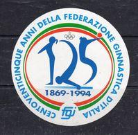 1869-1994 - 105 Anni Della Federazione Ginnastica D'Italia - - Stickers