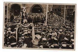 Nr.+  492,  FOTO-AK, Die Saar Ist Deutsch, Unser Führer In Saarbrücken, Adolf Hitler - Guerra 1939-45