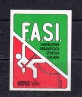 Federazione Arrampicata Sportiva  Italiana - - Stickers