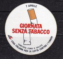 Giornata Senza Tabacco - Comitato Fumo O Salute - - Stickers
