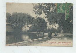 Toulouse (31)  : Les écluses Du Bassin De L'Embouchure Sur Le Canal Du Midi En 1918 (animé) PF. - Toulouse