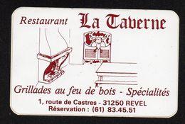 RESTAURANT LA TAVERNE 31250 REVEL - Autocollant  - Ref: 1379 - Stickers