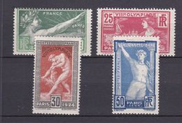 France N° 183 à 186 ** Côte 160 Euros - France