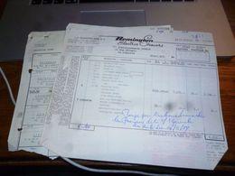 FF5 Document Commercial   Facture  Remington Electric Shavers - Belgique