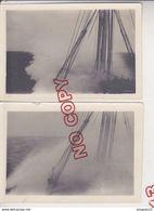Au Plus Rapide Messageries Maritimes Le Général Metzinger Dans Une Tempête De Mousson Océan Indien 7.07.1928 - Bateaux
