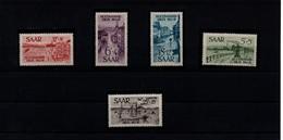 Sarre 1947.Série ComplèteP+PA.Les Inondations De Janvier 1947 - Ongebruikt
