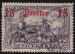 Michel    .      46       .        Stempel   JERUSALEM     .     O   .              Gebraucht - Deutsche Post In Der Türkei