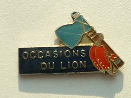 PIN'S PEUGEOT - OCCASION DU LION - Peugeot