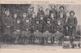 """Bo - Cpa LANGON  - La Maison Claire De """"Cuba"""" (pour Les Enfants Pauvres De Nos Soldats) - Langon"""