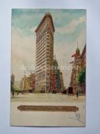 USA NEW YORK FLATIRON BUILDING Old Postcard - Manhattan