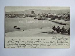SPALATO SPLIT DALMAZIA Croazia Riva Nuova AK Old Postcard - Croacia