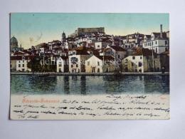 SEBENICO SIBENIK DALMAZIA Croazia  AK Old Postcard 6972 - Croacia