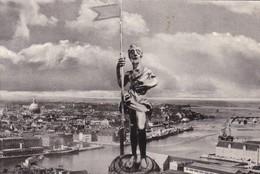 DINAMARCA DENMARK. TOPFIGUR PAR TAARNET 1752. KRISTUS MED SEJRSFANEN. A KJERUMGAARD.-TBE-BLEUP - Denemarken