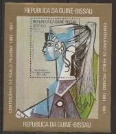 GUINEA - BISSAU 1981  Picasso - Picasso