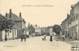 - Allier -ref-C35- Ygrande - Arrivee Rote D Orleans - Carte Bon Etat - - France