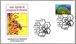 AULA APICOLA - ABEJA - BEE. Azuqueca De Henares, Guadalajara, 2014 - Honeybees