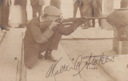 Walter Stokes - Schiessen - Fotokarte       (P-121-70218) - Waffenschiessen