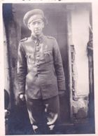 Very Old Real Original Photo - Young Man In Military Uniform - 8.7x6.2 Cm - Anonymous Persons