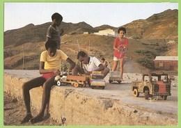 Cabo Verde - Brinquedos De Rua - História Postal - Postal Stationery - Philately - Cape Verde