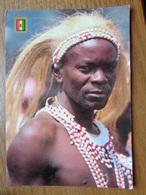 Africa / Rwanda, Danseur Intore  --> Written, Stamp Removed, Bit Damaged - Rwanda