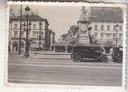 Bruxelles - Porte De Namur - Oldtimer - Photo Originale Format 6 X 8.5 Cm - Lieux