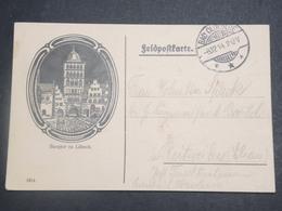 ALLEMAGNE - Carte En Feldpost De Lübeck En 1914 Pour L 'Alsace - L 15098 - Germania
