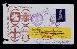 Scoutisme 1974 Phil.exh. Mozambique Boy Scouts Symbol Coat Of Arms Portugal Gc3384 - Scoutisme
