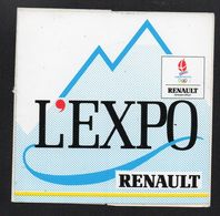 RENAULT L EXPO ALBERTVILLE - Autocollant  - Ref: 1386 - Stickers