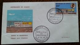 CONGO - FDC 1963 - YT Aérien N°11 - Hôtel De Ville De Brazzaville - FDC